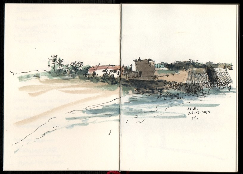 drawing from Ofir, Portugal