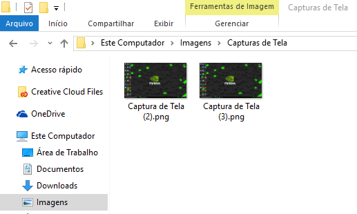 Captura de Tela