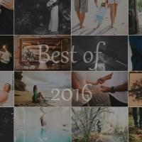 O melhor de 2016 // Best of 2016