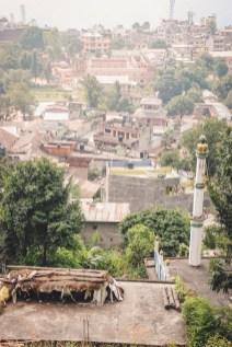 vista su tansen, nepal