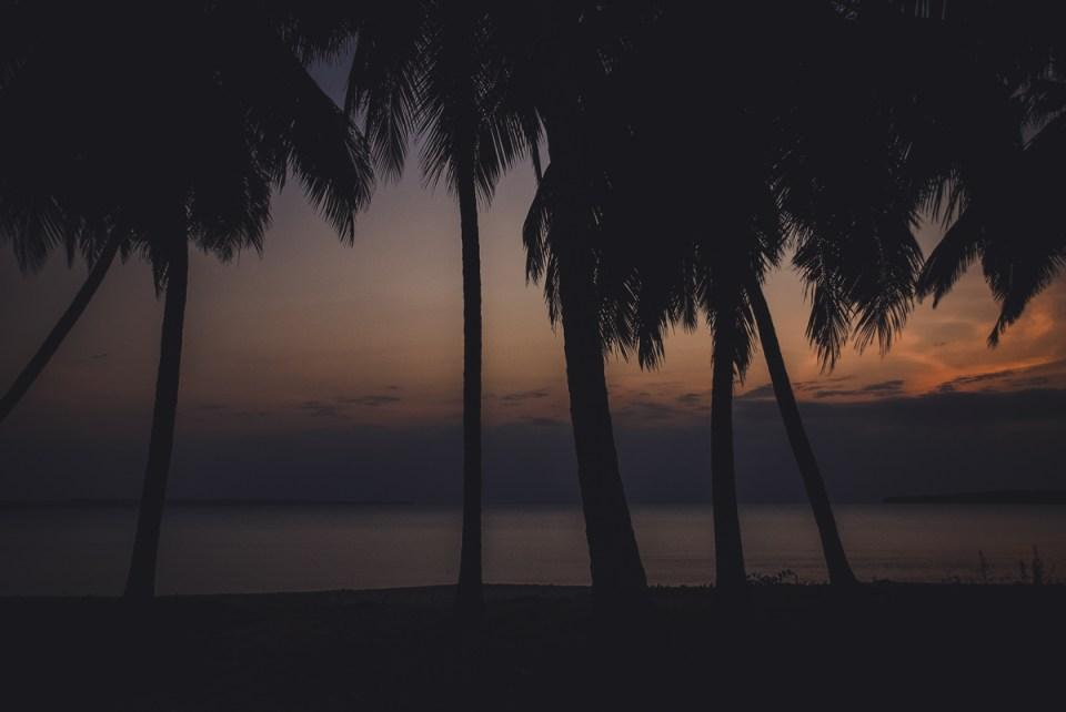 tramonto a lindi in tanzania