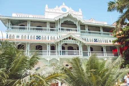 beautiful building in stone town