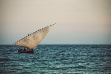 imbarcazione tipica di Zanzibar