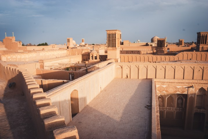 Roofs of Yazd