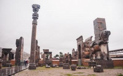 Persepolis e poi bus notturno per Isfahan