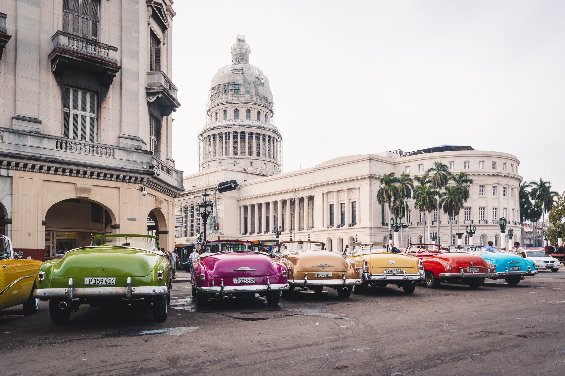 vintage cars in la havana for rental