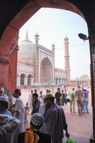 moschea di delhi