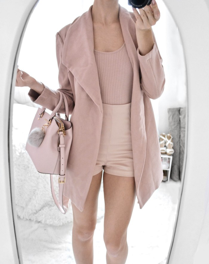 Blush Pink OOTD