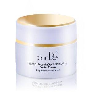10303 Crema Facial Placenta Anti-Arrugas TIANDE 50g Restaura Firmeza y Vitalidad de la Piel