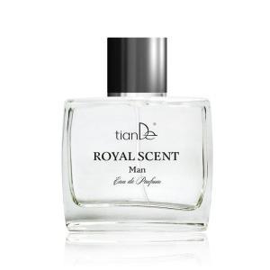 70144 Fragancia Royal para hombres enérgicos, Eau de Parfum, TianDe, 50 ml,