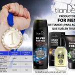 30133 Gel de Ducha Con la Plata Para los Hombres, TIANDE , 250 ml, Frescura Para los Hombres Dinámicos