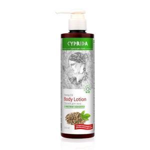 36602 Leche corporal de aceite de cáñamo, tianDe, 250 ml, Un manjar para tu piel del Mediterráneo