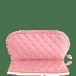 90191 Beauty Bag (Rosa u Olive), tianDe, 1 pieza, 10 х 17 х 9 cm, Ayudante elegante para tu perfección,