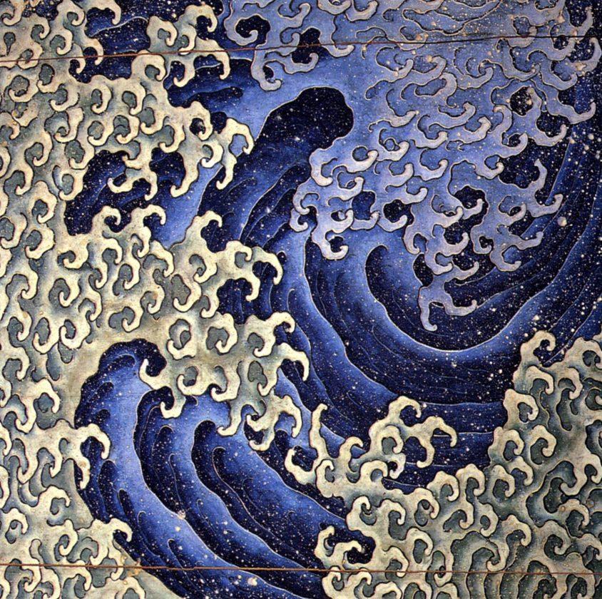 Vague masculine, Katsushika Hokusai