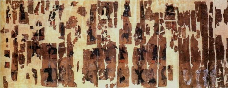 Figures de daoyin, tombe de Mawangdui