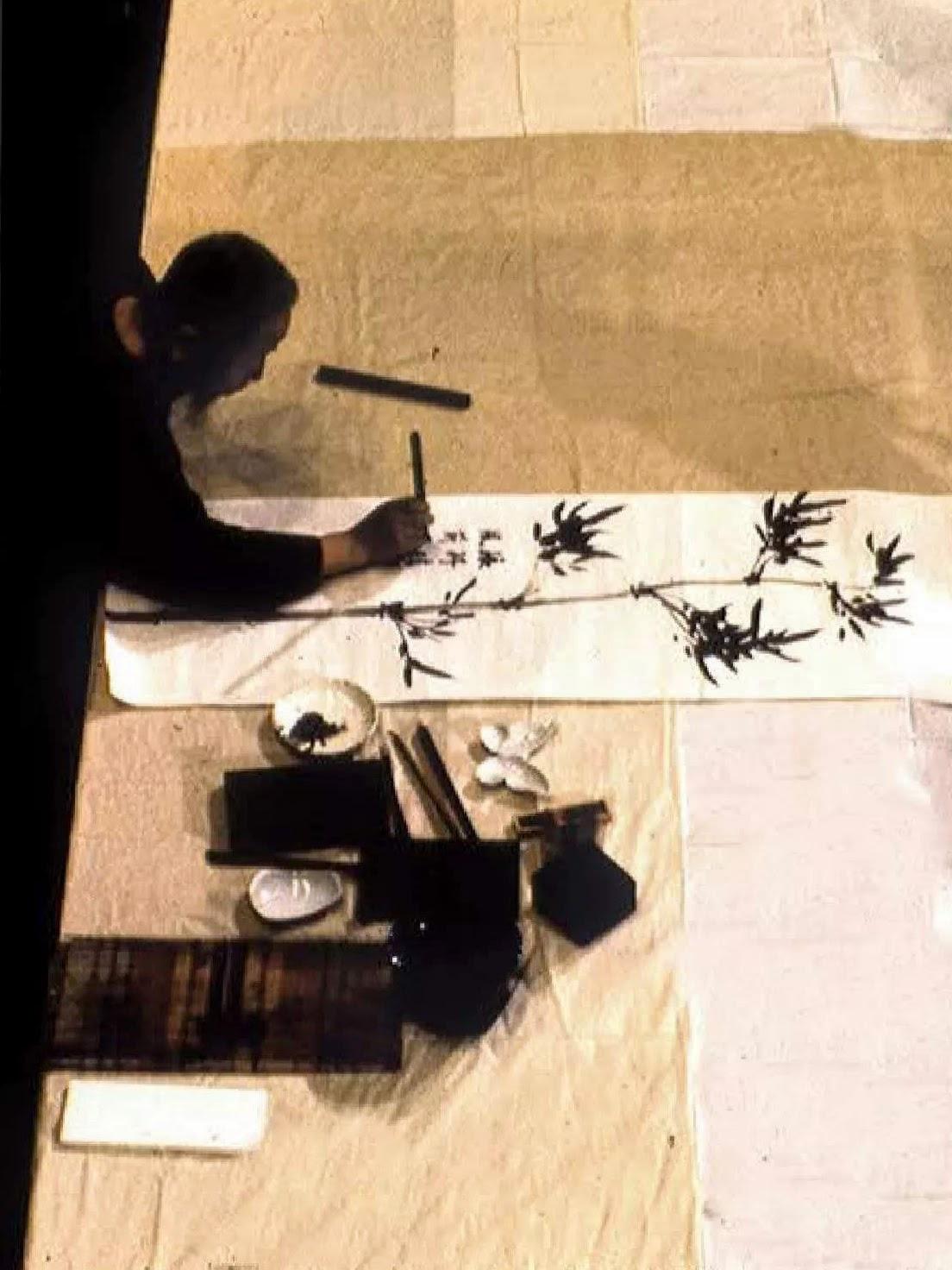Le pinceau de Cheng Man Ching
