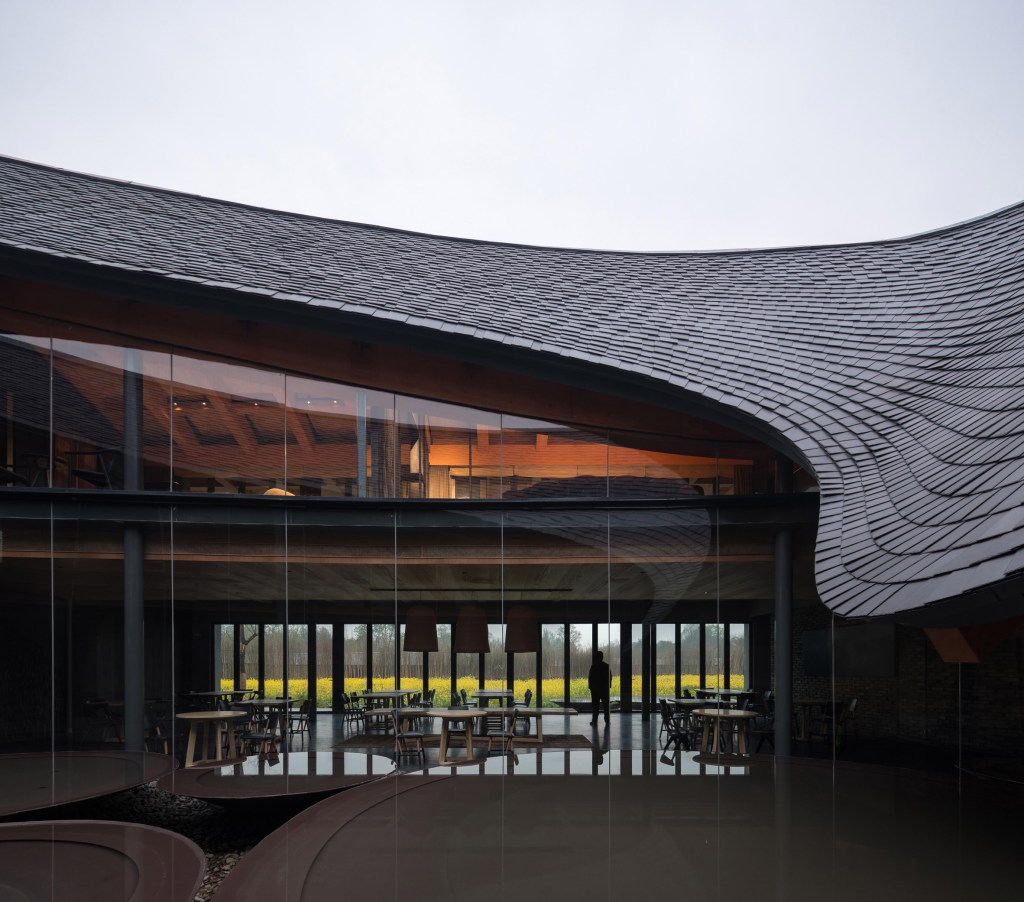 Centre culturel OCT Linpan d'Inkstone House, photographie de Su Shengliang