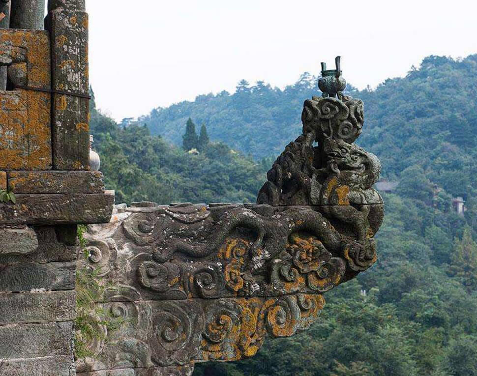 Bâtiments anciens du mont Wudang 2
