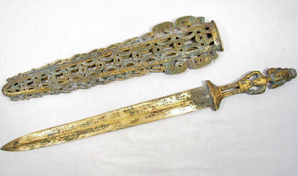 Épée chinoise de la dynastie Shang