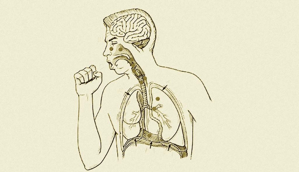 Illustration de la toux