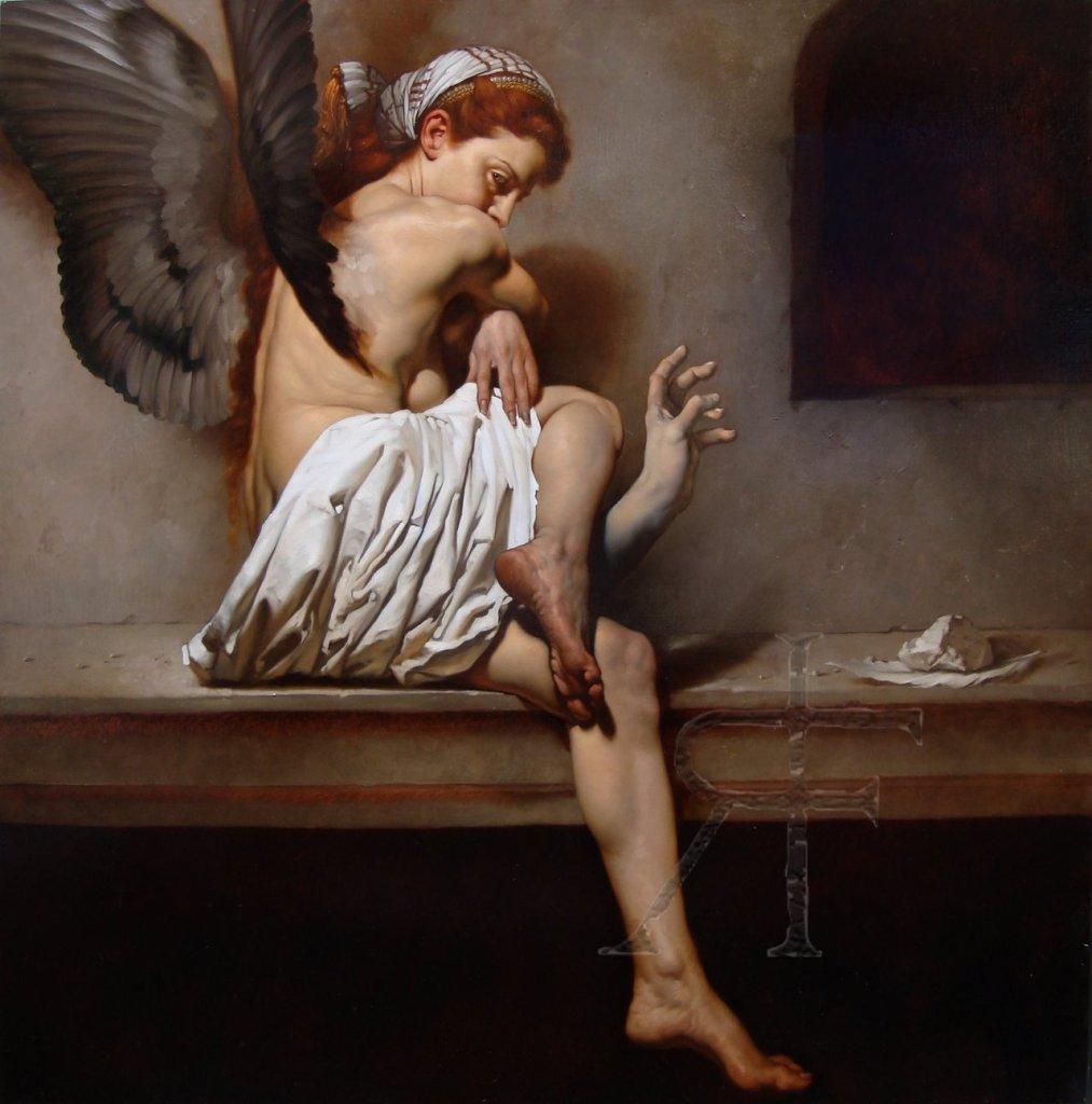 Tristesse de la lune, 2005, Roberto Ferri