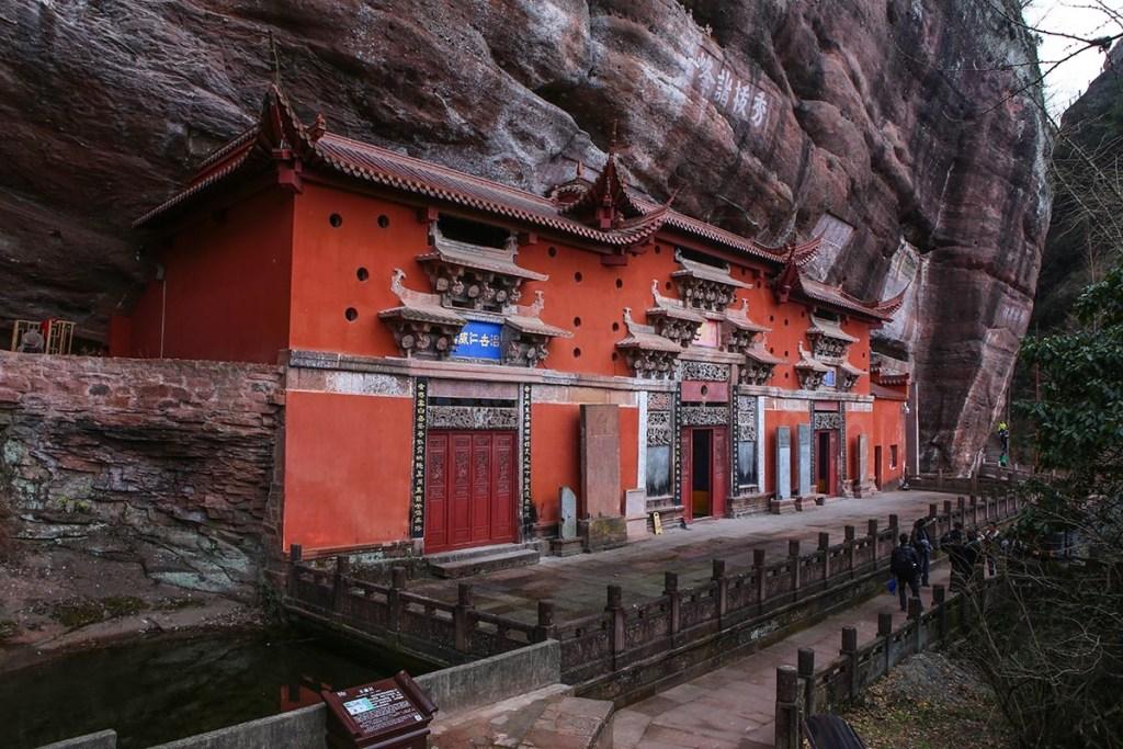 Palais Yuxu dans les monts Qiyun