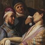 Le patient évanoui - L'odorat, de Rembrandt, vers 1624