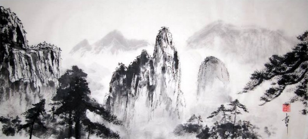 Panorama des monts Huang Shan, Jean-Marc Moschetti