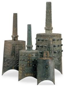 Les cloches carillons de Zeng Hou Yi, tombe du marquis Yi de Zeng, Zhou orientaux, Royaumes combattants