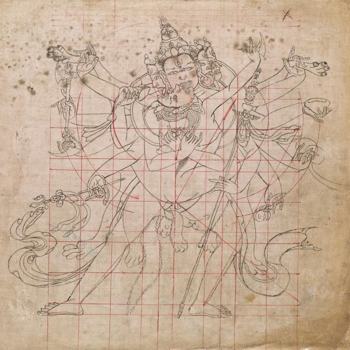 Le Livre tibétain des proportions