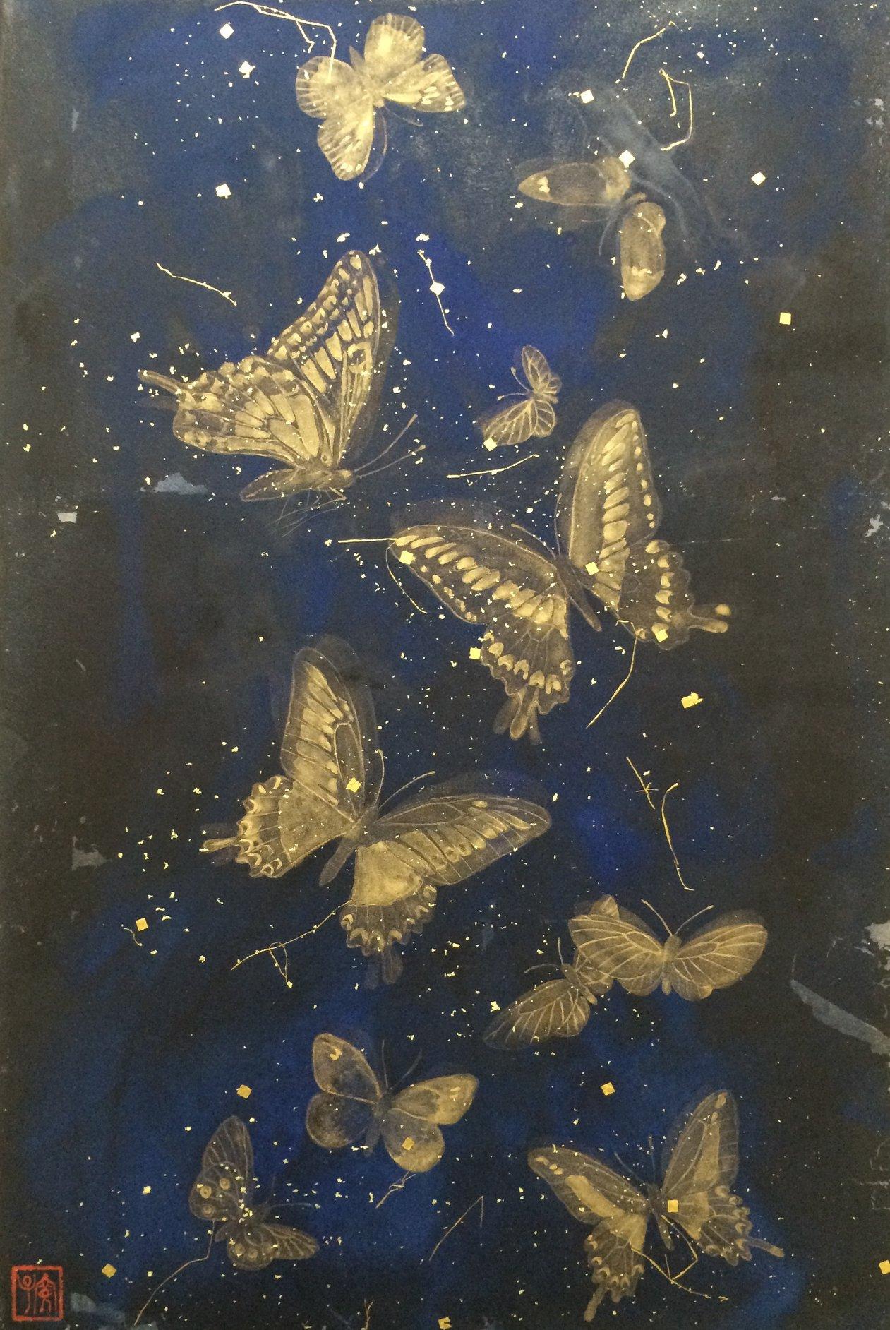 Les ailes du papillon