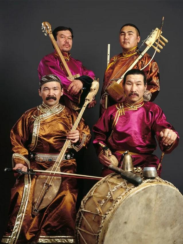 Huun-Huur-Tu, un groupe originaire de Touva