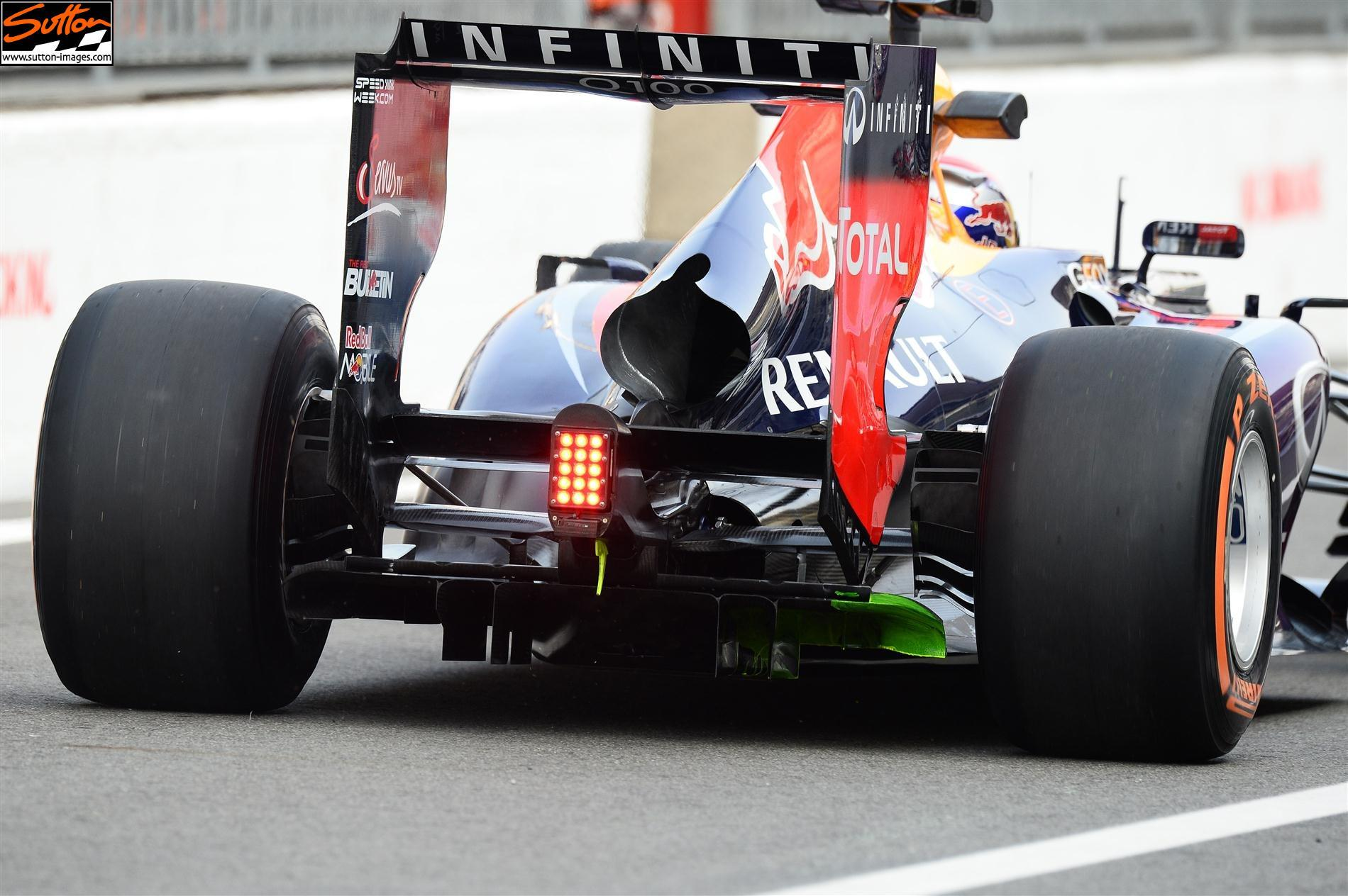 hight resolution of red bull rear wing monza 2013