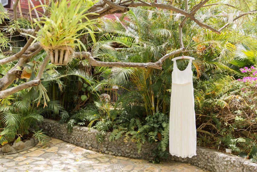 Robe de mariée Elise Hameau à la Réunion