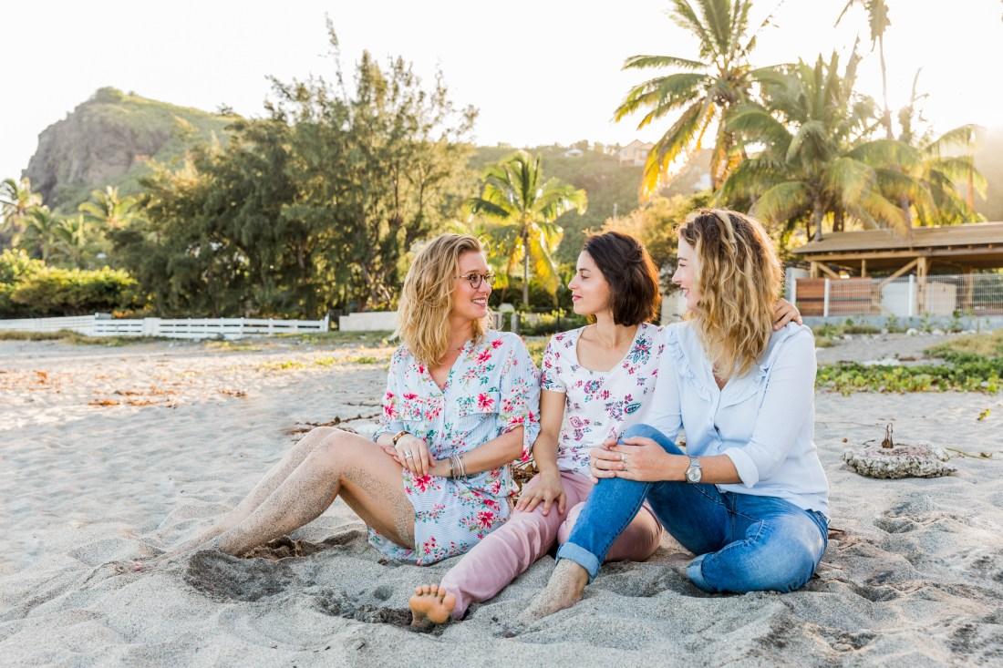 Séance photos entre copines à la Reunion