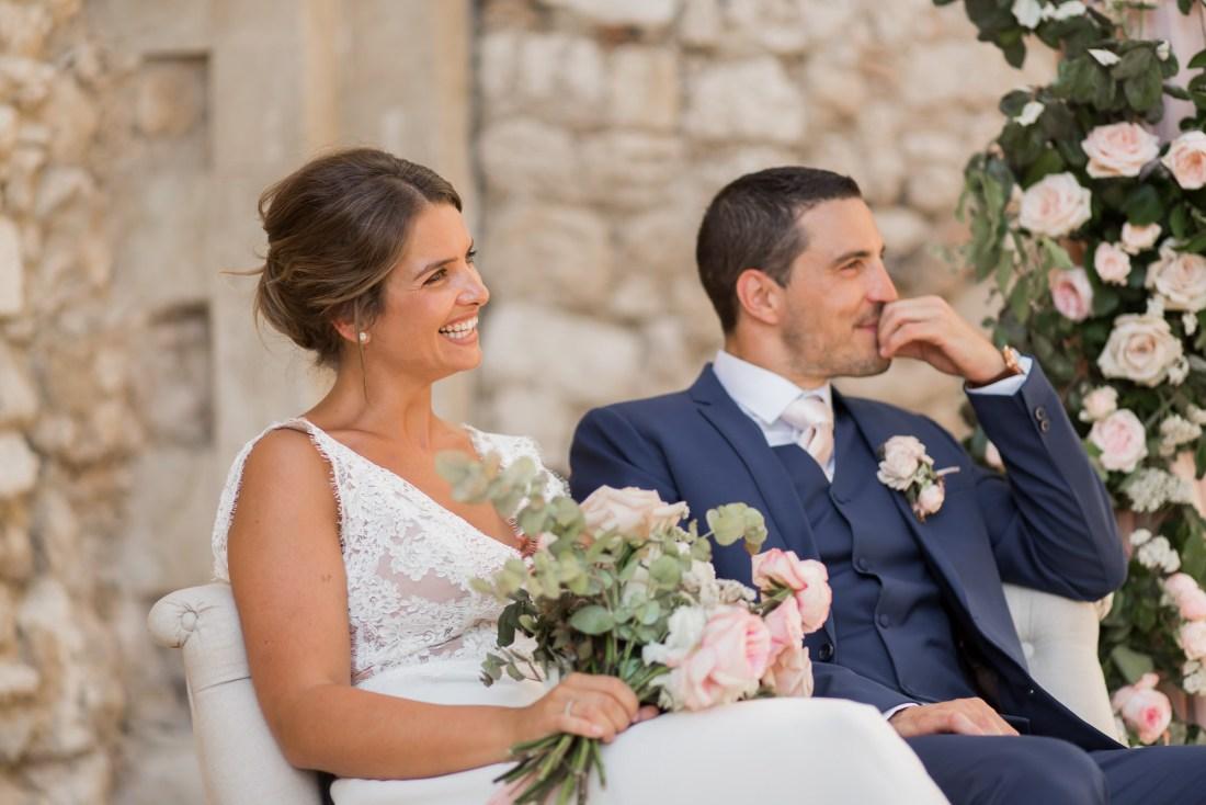 un mariage au domaine de sarson avec une cérémonie laique