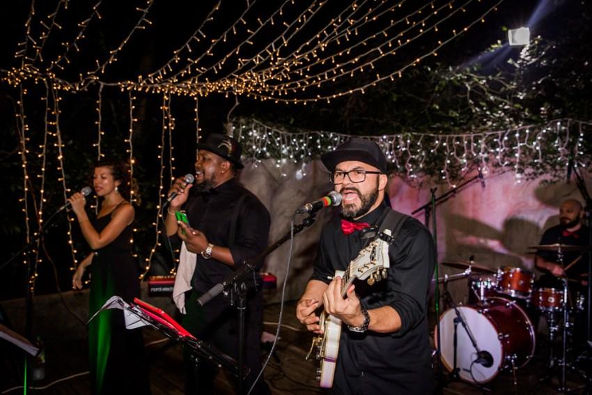 Le groupe de musique Soulmitik au Jardin Créole pour une mariage dans l'Est de la Réunion