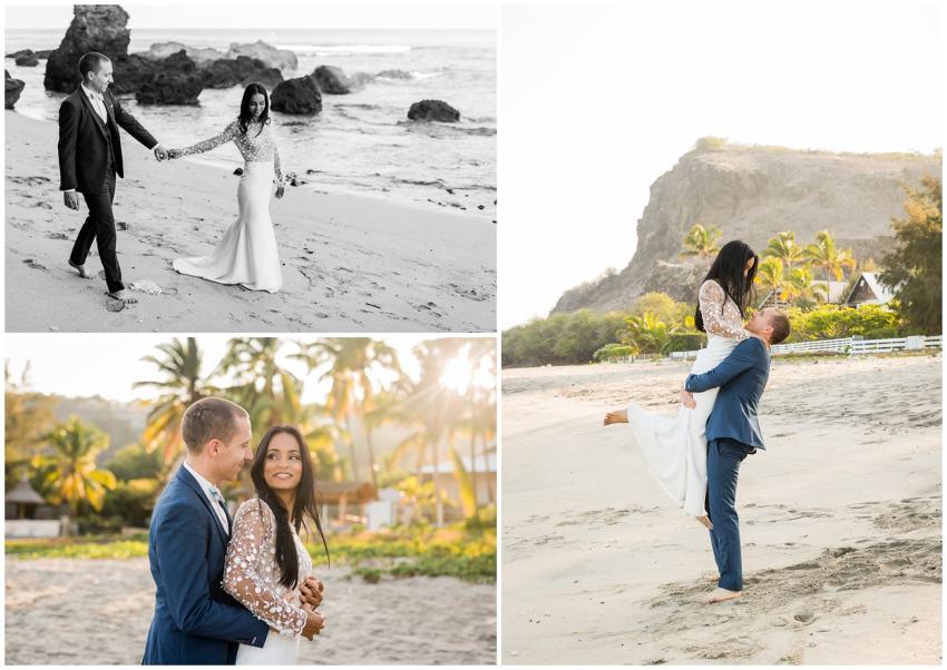 5 raisons de se marier à la Réunion - Plage - mariage - Fanny Tiara