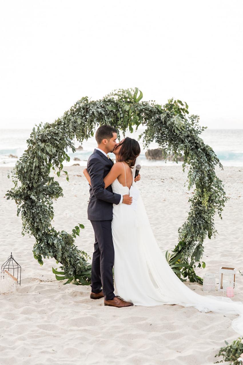 mariage - plage - Ile de Reunion - Fanny Tiara
