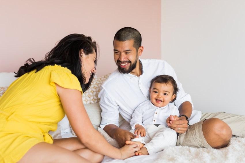 Un shooting photo de famille à la Réunion