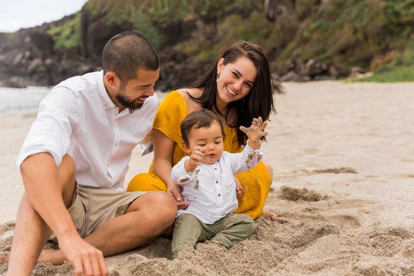 Un shooting famille à la Réunion