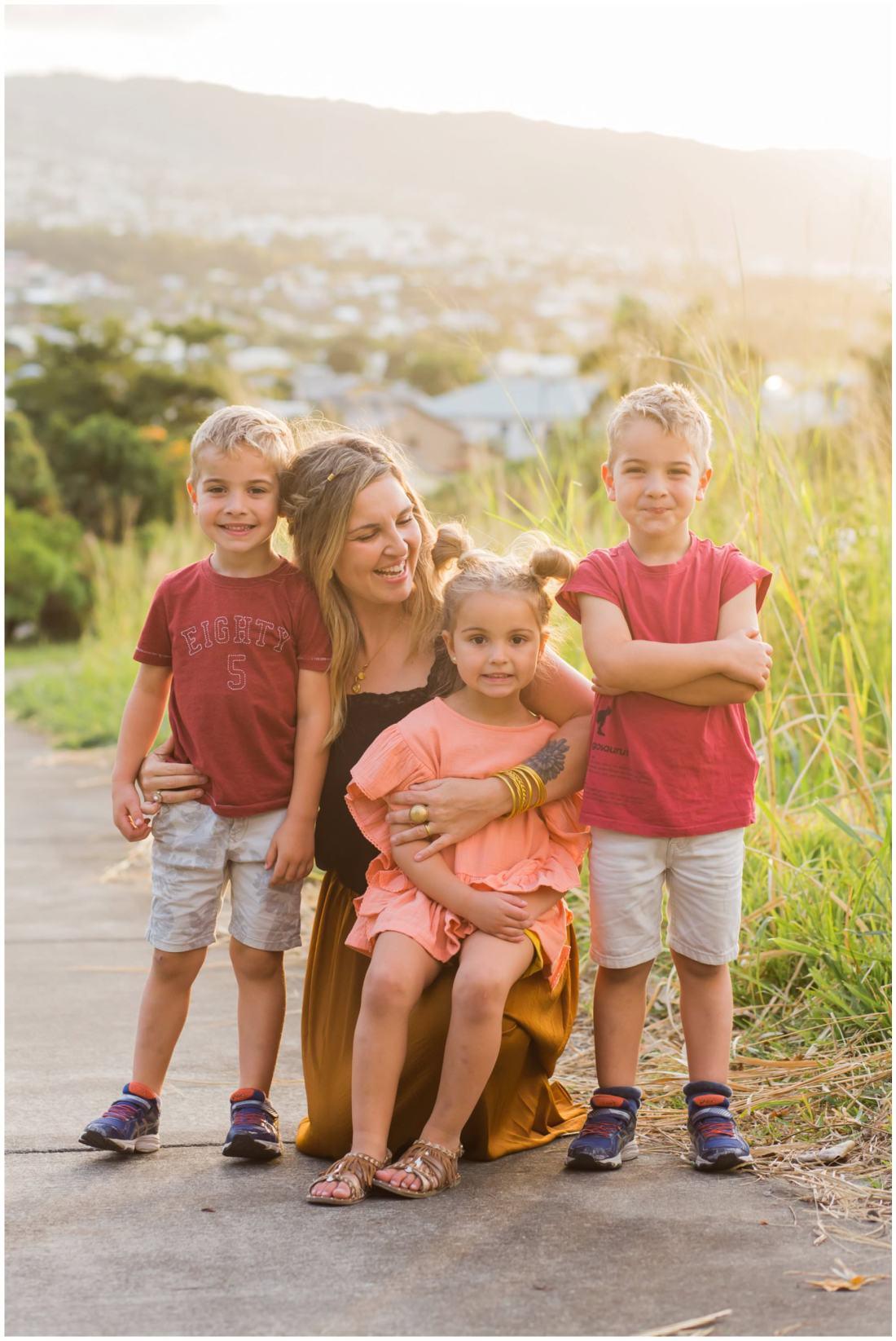 Des photos de famille à la Réunion