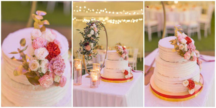 gâteau de mariage par délices d'Elyss