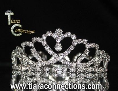 mini heart crown