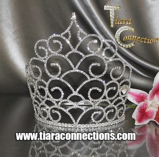 "Adjustable Band Crowns 5""+ in height"