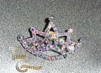 Sash Pins & Crown Brooches