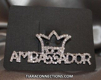 Ambassador Crown Pin