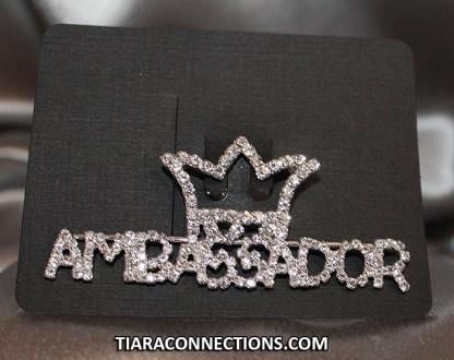 Ambassador Crown Pin