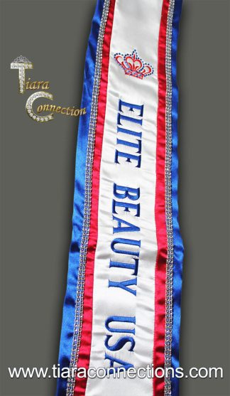 Double Deluxe Custom Embroidered Sash