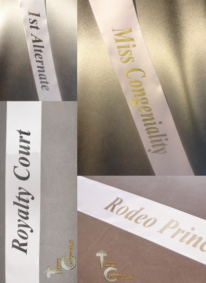 Pre-Made Print Sashes